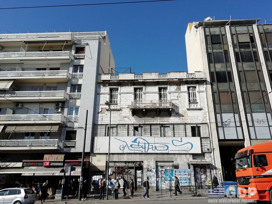 Unique located neoclassical building for sale, Athens center