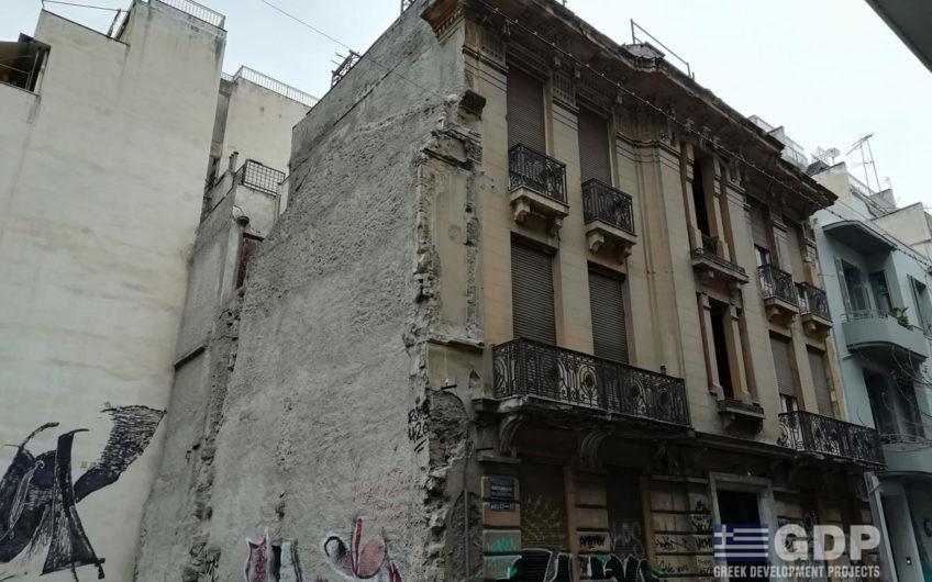 בניין ניאו-קלאסי למכירה באתונה, אקסרכיה