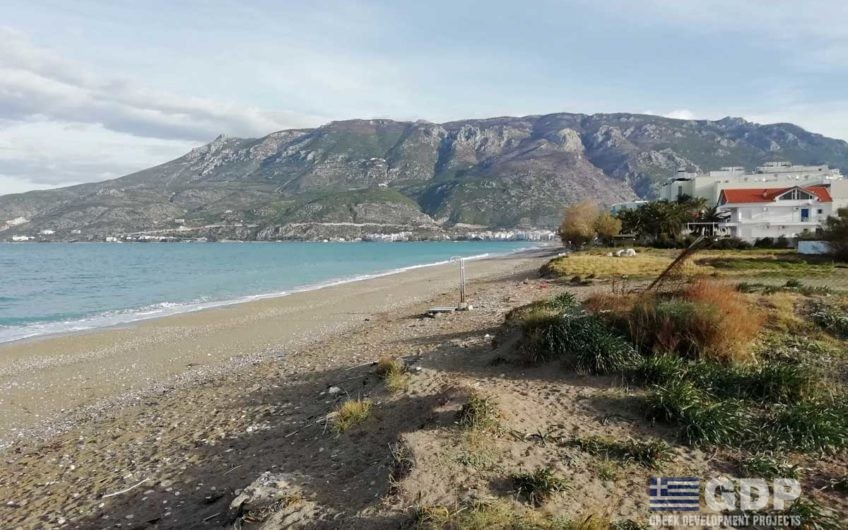 Plot of land for sale – Loutraki coast