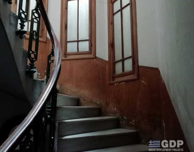 Neoclassical building for sale in Athens, Exarchia