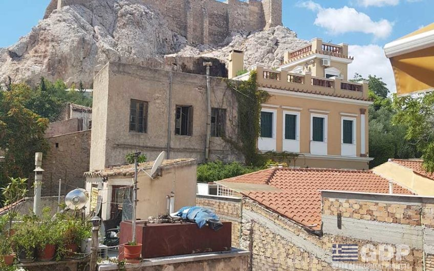 Luxury Neoclassical House on sale in the heart of Athens, Plaka next to Acropolis, between Syntagma and Monastiraki square