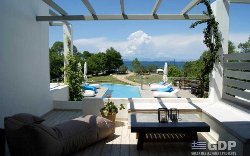 Plot of land with hotel on sale in Lefkada, Greece