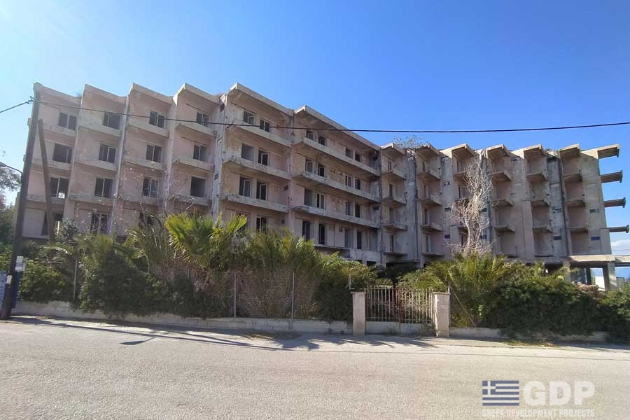 Unfinished Hotel for sale in Kokkoni, Greece