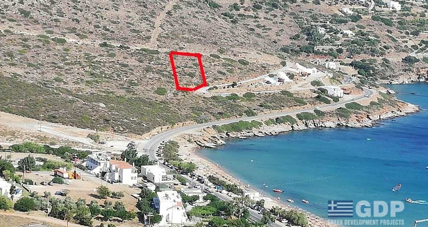 Plot of land on sale in Andros (the northernmost island of the Greek Cyclades archipelago)